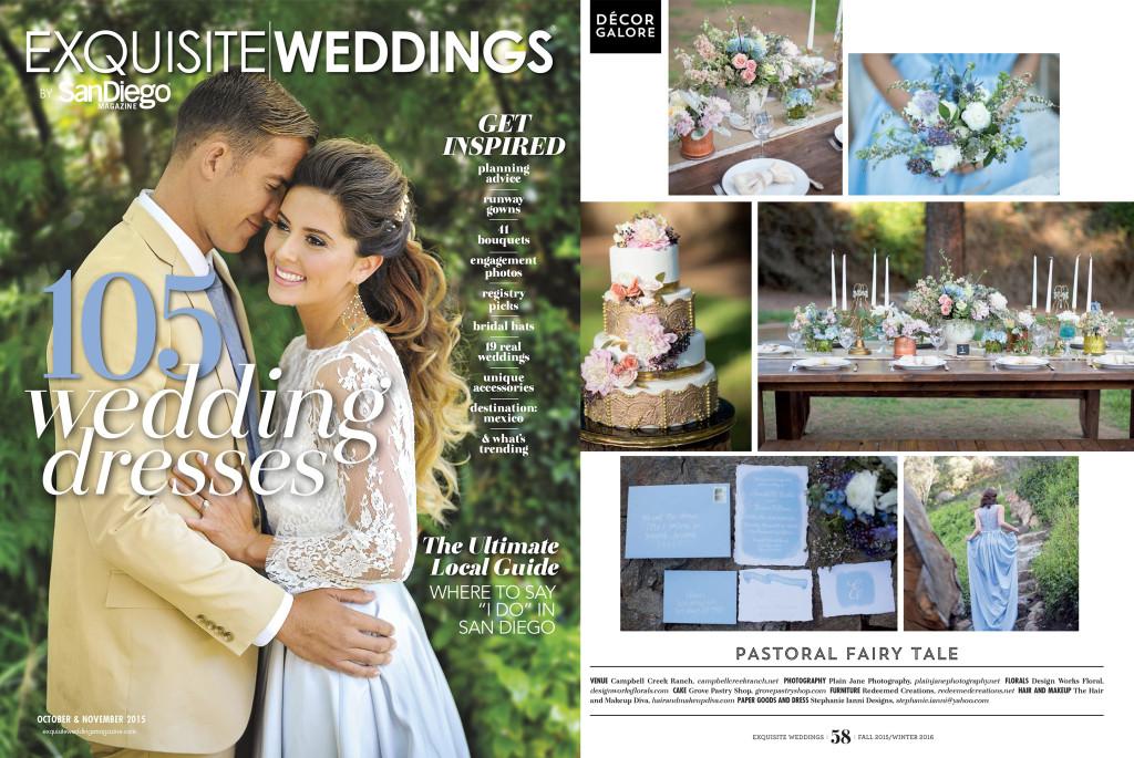 Exquisite Weddings Feature