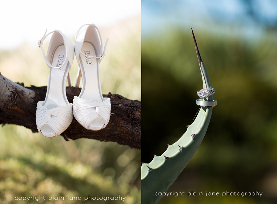 ring and shoes
